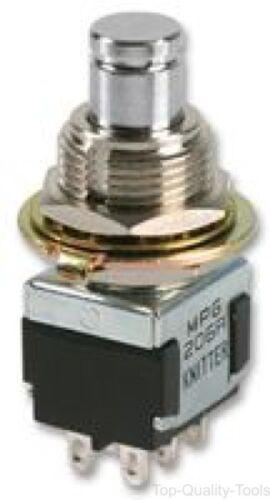 conmutador Knitter-switch MPG 206 N Interruptor DPDT Enganche On-On