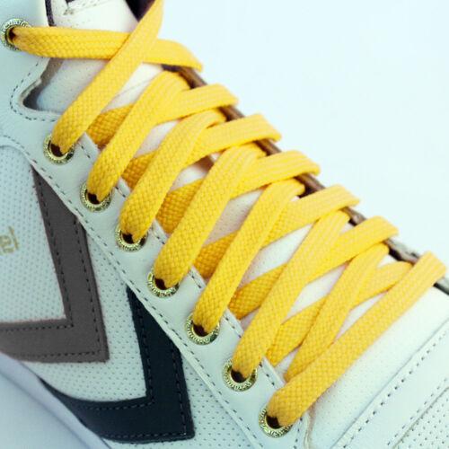 Schuh Flache Schnürsenkel Farbig Turnschuhe Stiefel Kurz Lang Dünn Neu Kinder