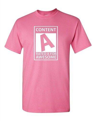 Contenu adulte notés a pour Awesome Cool Nerd Drôle Humour Parodie T-Shirt Tee