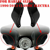 Wind Deflector Fairing Air Wing For Harley Electra Street Ultra Glide Touring Z