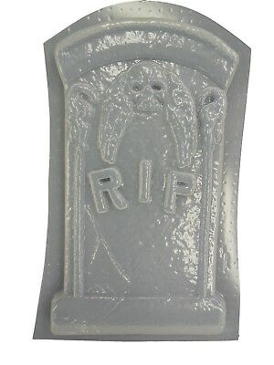 Skeleton Plaque Halloween Concrete Plaster Cement Mold 8002 Moldcreations