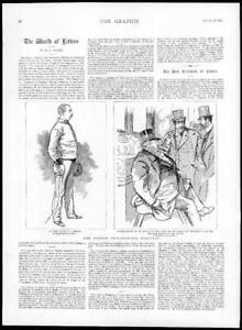 1895-Antique-Print-FRANCE-Presidential-Election-Felix-Faure-De-Blowitz-164
