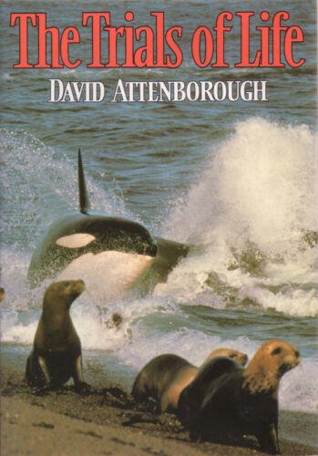 1 of 1 - The Trials of Life by Sir David Attenborough (Hardback, 1990)