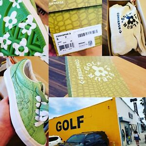 caa367c8a0c8 Tyler the Creator Converse Golf Wang Le Fleur OX Alligator Skin 24 ...