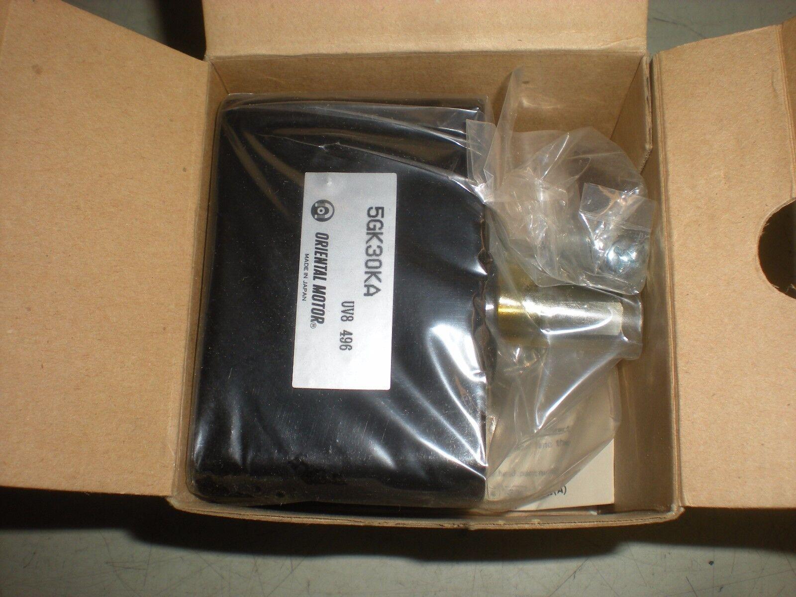 Oriental Motor 5GK30KA Gear Head - NIB