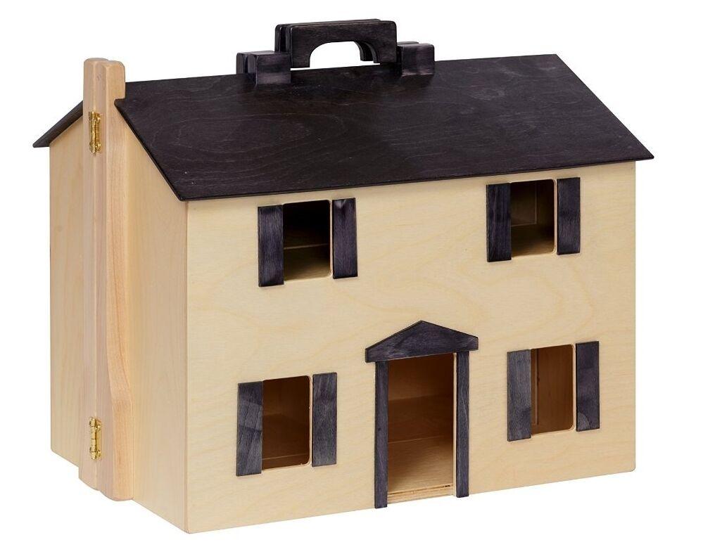 Grandes Hechos A Mano Plegable Para Casa De Muñecas De Madera Muñeca Preescolar Play House De Arce