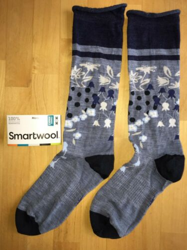 Casual Dress Blue SmartWool Everlasting Eden Light Mid-Calf Socks Women MED