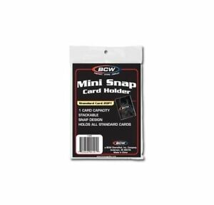 10-Pack-BCW-Mini-Snap-Tite-Card-Holders-Stackable-Standard-Size-Archival-Safe