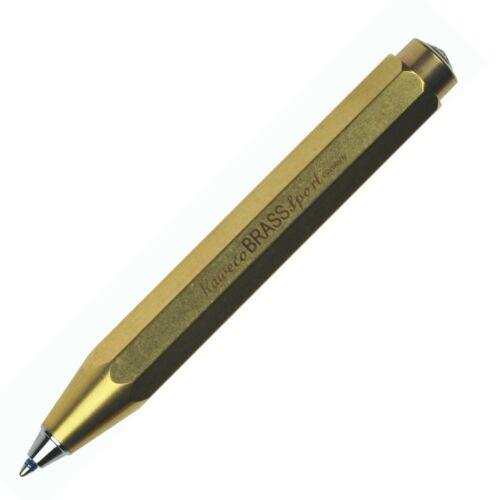 Chose Mode Ball Pen Kaweco BRASS Sport Pocket Fountain Rollerball Pencil