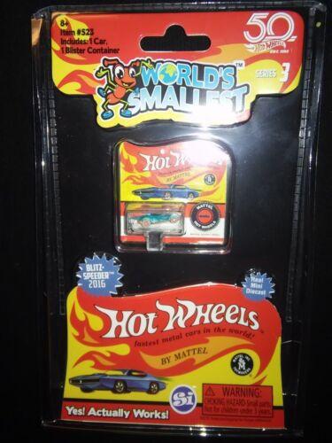 Racing Rod BLITZ SPEEDER Race Car HOT WHEELS Worlds Smallest Collectible