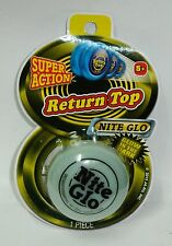 1 SUPER ACTION Return Top NITE GLO, GLOW IN THE DARK Yo Yo NIP