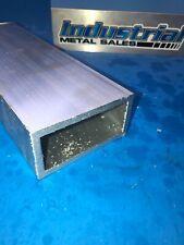 6063 Aluminum Rectangle Tube 2 X 4 X 60 X 14 Wall 2 X 4 X 250 Wall