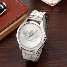 New Vintage Fashion Silver Clover Unisex Adidas Watch