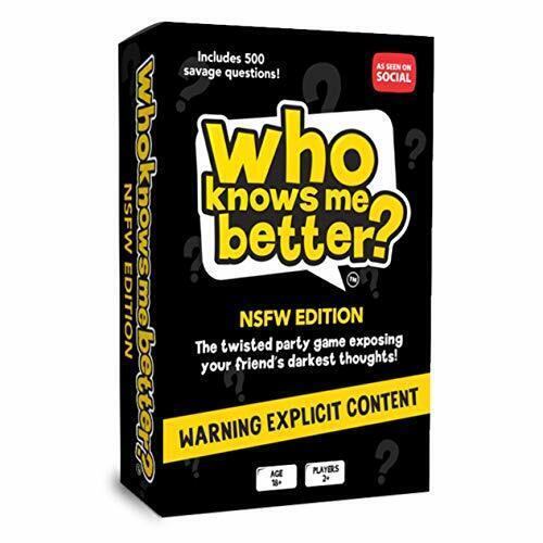 The Social Store-Who Knows Me Better?partie jeu de carte /& Quiz pour adultes