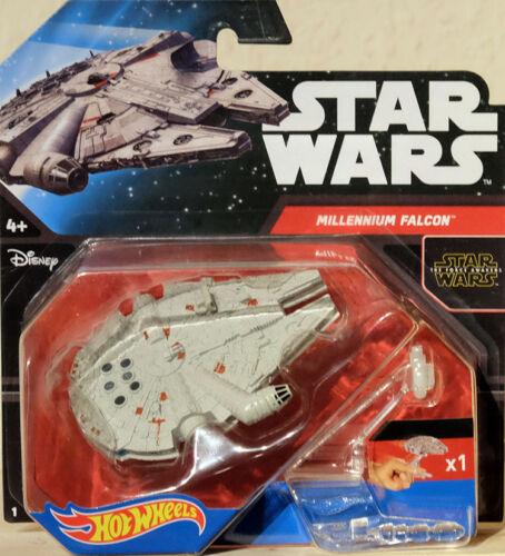 Star Wars Millennium Falcon Raumschiff Hot Wheels CKJ66 Starship YT-1300