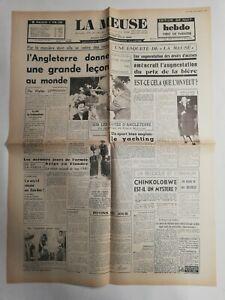 N311-La-Une-Du-Journal-La-Meuse-17-aout-1947-l-039-Angleterre-donne-une-grande-lecon