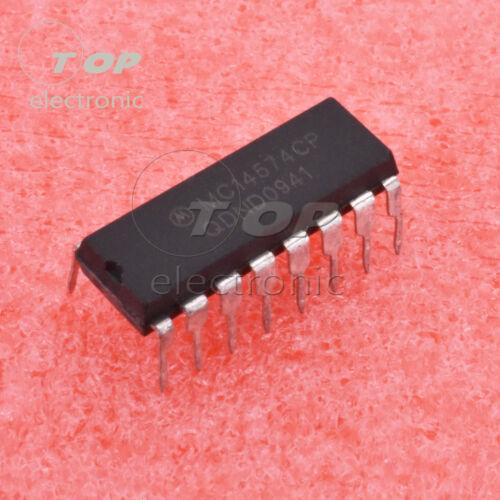 1PCS//5PCS MC14574CP DIP 16PIN 14574CP Quad Voltage Comparator IC