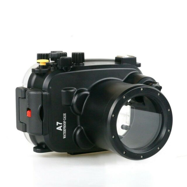 Meikon 40m/130ft Underwater Camera Housing case for Sony A7 A7r A7s 28-70mm Lens