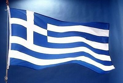 1-100 Pieces Greek Greece Flag Small Flags Handheld Party Cypriot ΣΗΜΑΊΑ ΤΗΣ Ε