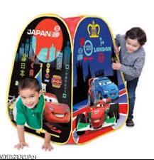 DISNEY CARS 2~PLAYHUT CAMPOUT EZ TWIST POP UP TENT~30X38X30~FOLDS FLAT  sc 1 st  eBay & Disney Cars 2 Playhut Campout EZ Twist Pop up Tent 30x38x30 Folds ...