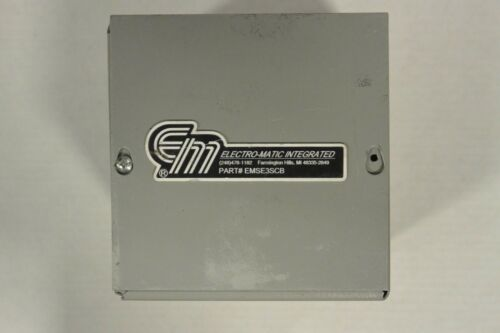 Details about  /Electro Matic Integrated Part EMSE3SCB in Enclosure SC060606