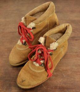 Vintage Womens Yugoslavia Brown Leather