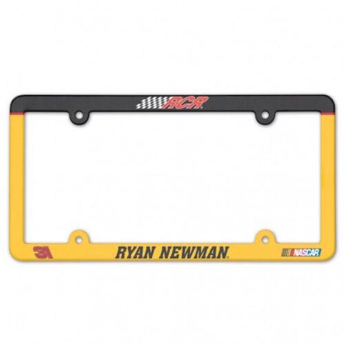 RYAN NEWMEN #31 CATERPILLAR NASCAR SPRINT CUP SERIES LICENSE PLATE FRAME RCR