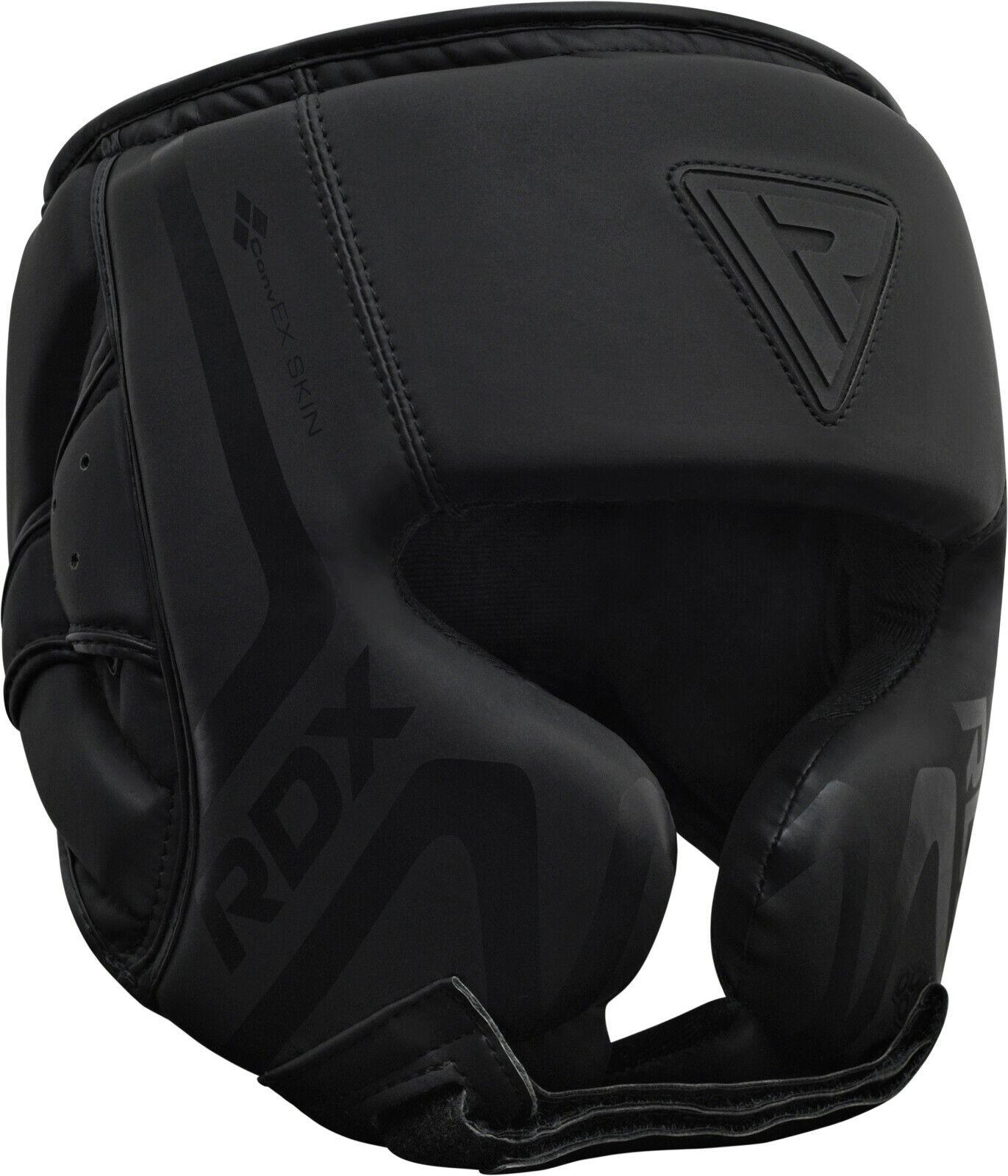 RDX Head Guard Helmet Boxing MMA Martial Arts Gear Protector Kick Training Black