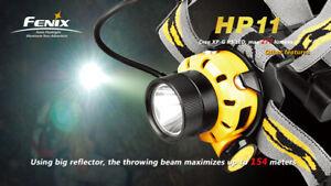 Fenix HP11 - Orange -Headlamp 277-Lumen 4xAA Batteries (Not included)