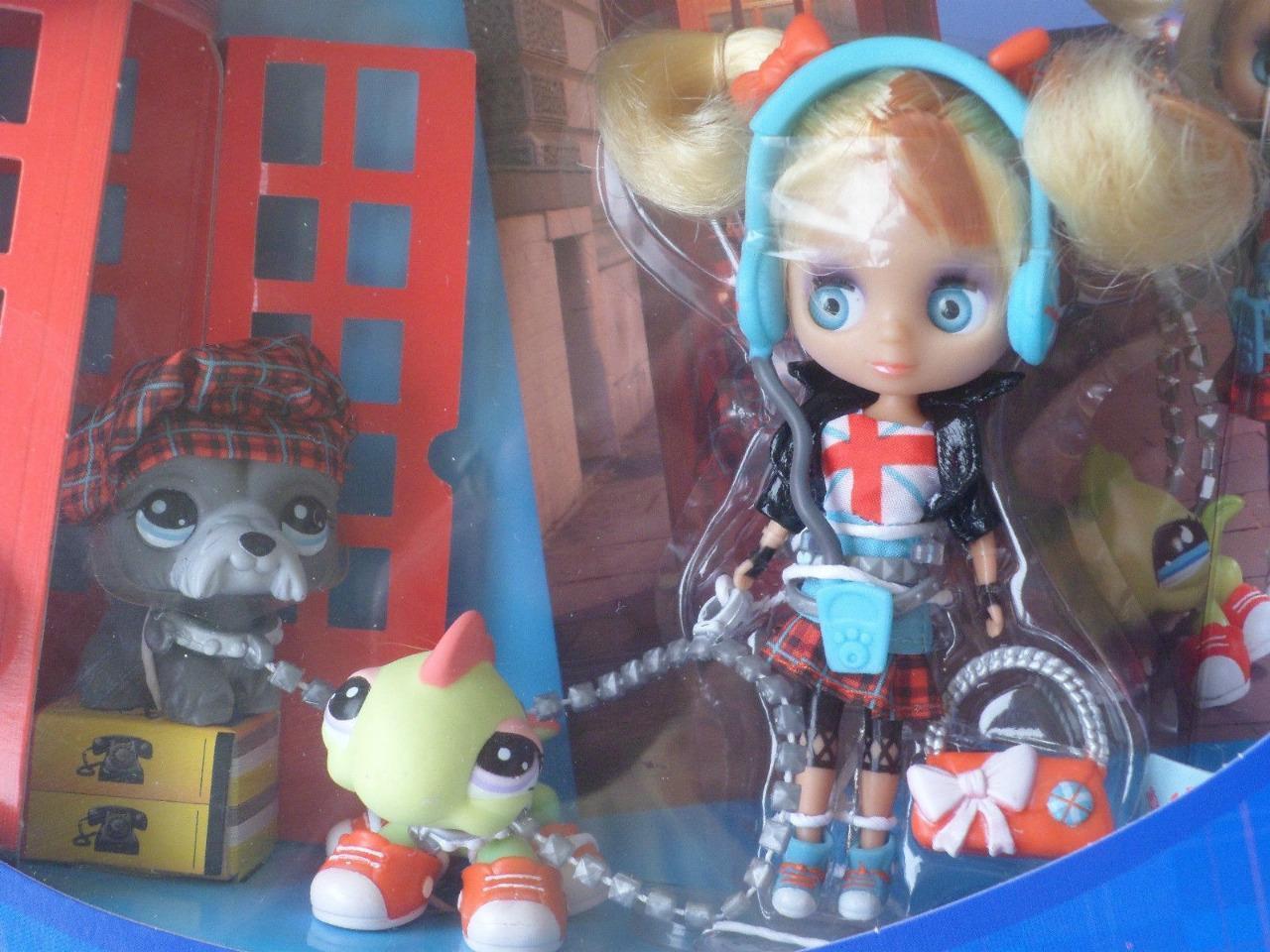 Littlest Pet Shop Hasbro Blythe B13 Sightseeing Sightseeing Sightseeing Cute lot Retired NIB e2e001