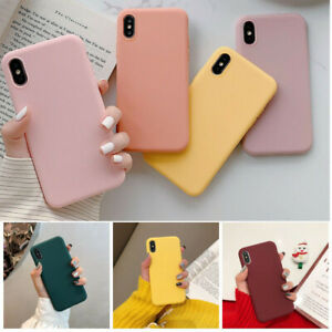 Candy-Solid-Color-Soft-Silicone-Cover-Phone-Korea