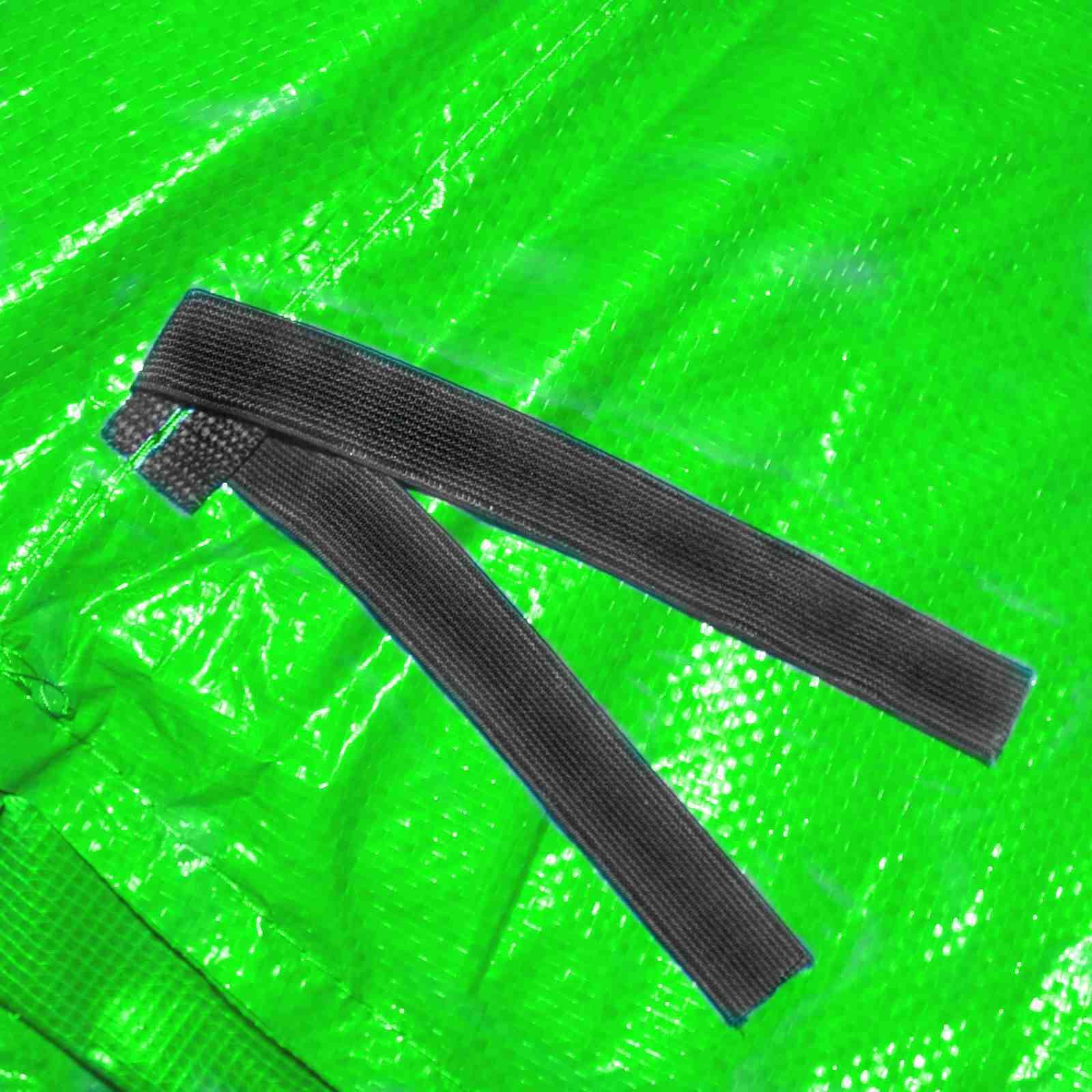 Randabdeckung Randpolsterung Abdeckung Abdeckung Abdeckung in hellgrün für Trampolin 487 bis 490 cm 3bdf9d