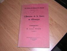 1933.obsession guerre en Allemagne.Rivaud.Hitler 39-45