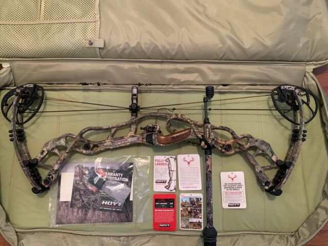 $250 MSRP NEW Hoyt Carbon Pro 2-Piece Quiver Realtree Xtra Camo Fixed 2 Piece