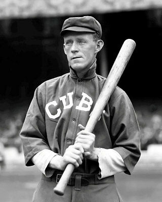 Johnny Evers #3 Photo 8X10 - Cubs 1913  B&W  Buy Any 2 Get 1 FREE