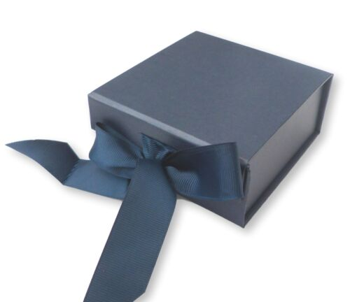 1 Extra Small Navy Blue Magnetic Gift Box,Weddings,Christenings,Gifts,Bridesmaid