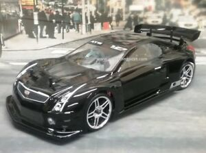 Custom Painted Body Cadillac Ats V R For 1 10 Rc Drift Cars Touring