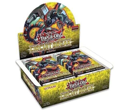 Yu-gi-oh Circuit Break Booster Box of 24 Packs