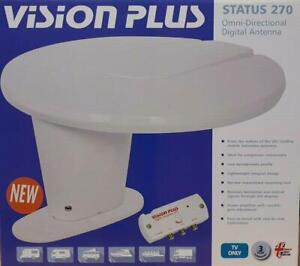VISION PLUS CAMPERVAN CARAVAN AND MOTORHOME STATUS 270 TV AERIAL *FAST DEL*