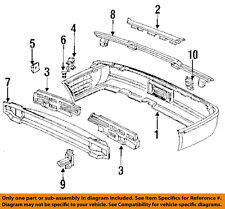 Genuine Acura Parts 71575-SP0-A00 Driver Side Rear Bumper Energy Absorber