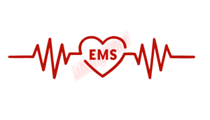 EMS-Heartbeat-Rhythm-Nurse-Sticker-Vinyl-Decal-Window-Sticker-Car