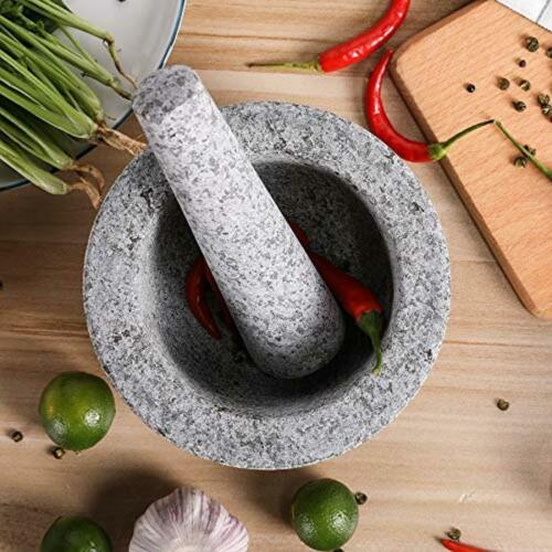 Mortero De Piedra Guacamole And Salsa Bowl Mexican Molcajete Top Quality