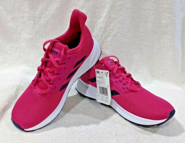 Girls adidas Duramo 9 Pink Running Shoes SNEAKERS Size 6 F35102