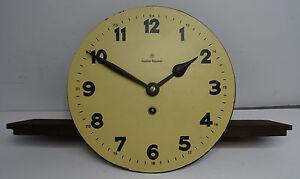 Antike mechanische Pendel Uhr Gustav Becker Werk  Ersatzteil