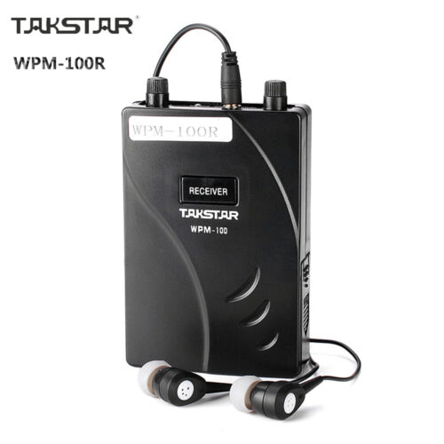 New Takstar WPM-100R In Ear Professional Stage Wireless Monitor System Stereo
