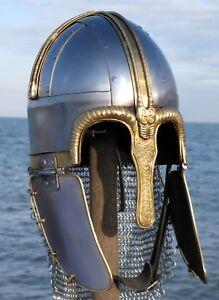 Coppergate-Viking-Helmet-Saxon-Ragnor-Reproduction-Larp-York