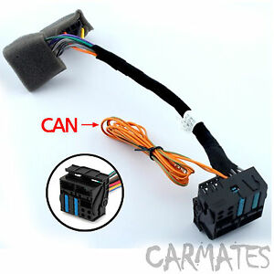 radio cd female plug wiring harness adapter can bus wiring for image is loading radio cd female plug wiring harness adapter can