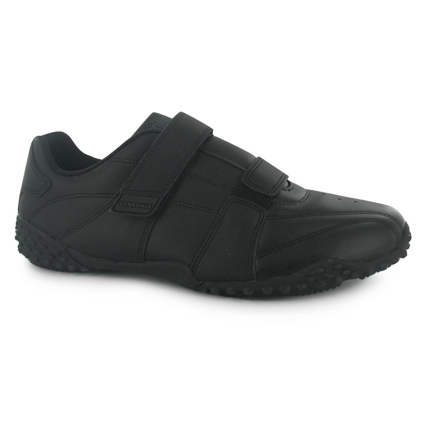 Scarpe da ginnastica Lonsdale Fulham Uomo NERO/NERO scarpe casual sneakers calzature Scarpe classiche da uomo
