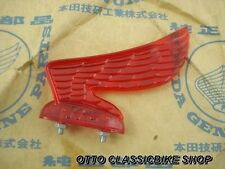 HONDA SUPER CUB C100 CA100 C102 C105 CD105 CM91 CM90 Headlight Wing Visor HM Red