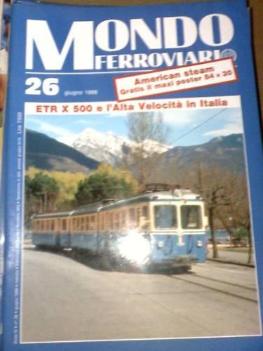 Mondo Ferroviario 26 1988 Le locomotive E 454 453